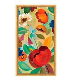 Greenleaf Art Red and Orange Framed Canvas Art