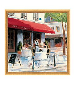 Greenleaf Art Coffee Corner I Framed Canvas Art