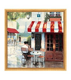 Greenleaf Art Coffee Corner II Framed Canvas Art