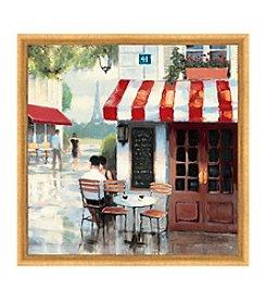 Greenleaf Art Coffee Corner II Framed Canvas Art