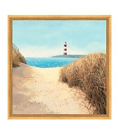 Greenleaf Art Light House Framed Canvas Art