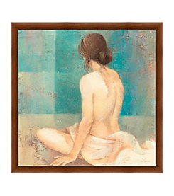 Greenleaf Art Woman Back II Framed Canvas Art