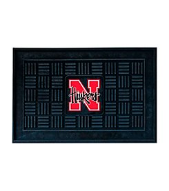 NCAA® University of Nebraska Medallion Door Mat