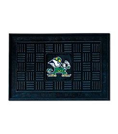 NCAA® Notre Dame Medallion Door Mat
