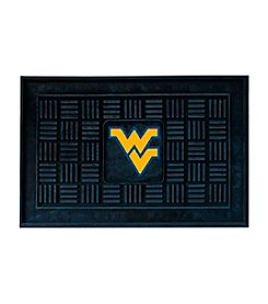 NCAA® West Virginia University Medallion Door Mat