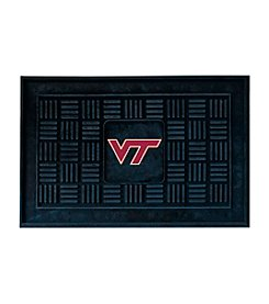NCAA® Virginia Tech Medallion Door Mat