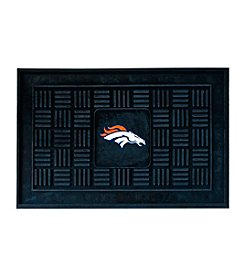 FANMATS Denver Broncos Medallion Door Mat