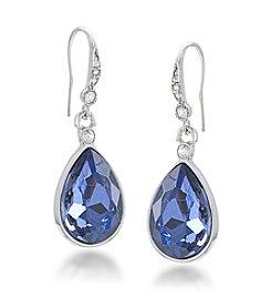 Carolee® Blue The Seraphina Teardrop Pierced Earrings