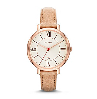 Fossil® Women's Jaqueline Watch in Polished Rose