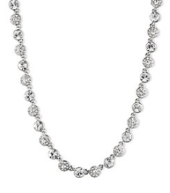Givenchy® Silvertone Collar Necklace