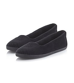 Dearfoams Velour Closed Back Slipper
