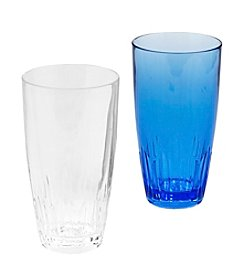 LivingQuarters Crystal Cut Highball Glass