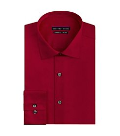 Geoffrey Beene® Men's Regular Fit Sateen Spread Collar Dress Shirt