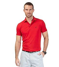 Nautica® Men's Short Sleeve Tech Pique Polo Shirt