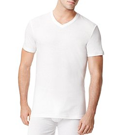 Tommy Hilfiger® Men's White 4-Pack Classic V-Neck Tee