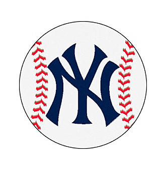 New York Yankees NY Baseball Floor Rug Mat