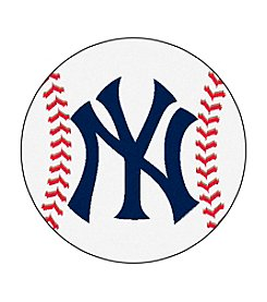 MLB® New York Yankees Baseball Round Mat