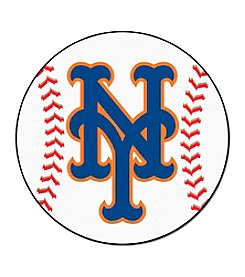 MLB® New York Mets Baseball Round Mat