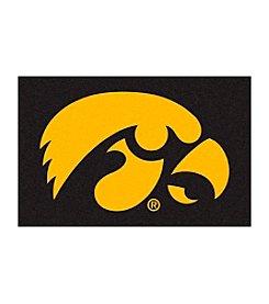 NCAA® University Of Iowa Football Starter Mat