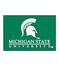Michigan State University FANMATS® Football Starter Mat