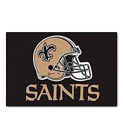 NFL® New Orleans Saints Football Starter Mat