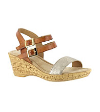 "Bella Vita® ""Zucchero"" Casual Wedge Sandals"