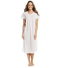 Aria® Knit Ballet Gown - White Ditsy