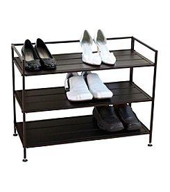Oceanstar 3-Tier Stackable Solid Metal Shoe Storage Shelf *