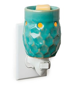 Candle Warmers Etc. Honeycomb Turquoise Pluggable Warmer