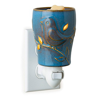 Candle Warmers Etc. Bluebird Pluggable Fragrance Warmer