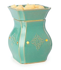 Candle Warmers Etc. Vintage Turquoise Ceramic Illumination Warmer