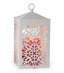 Candle Warmers Etc. Scroll™ White Candle Warmer Lantern