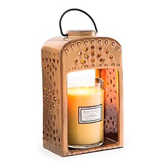 Candle Warmers Etc. Pierced Ceramic Lantern