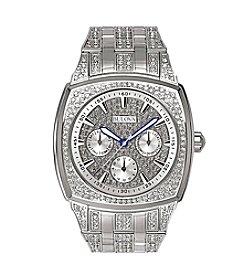 Bulova® Men's Crystal Multi Function Watch