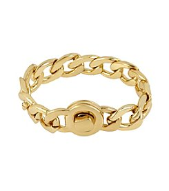 Kenneth Cole® Goldtone Link Bracelet