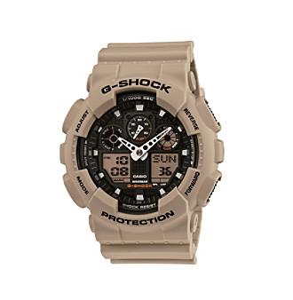 G-Shock XL Men's Military Sand Analog-Digital Watch with Bla