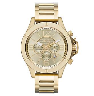AX Armani Exchange Goldtone Stainless Steel Bracelet Watch w