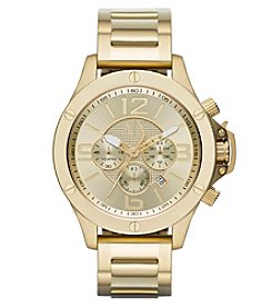 A|X Armani Exchange Goldtone Stainless Steel Bracelet Watch with Goldtone Dial