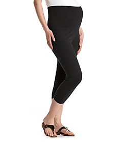 Three Seasons Maternity™ Solid Capri Leggings