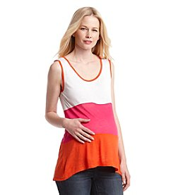 Three Seasons Maternity™ Colorblocked Tank Top