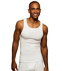 Hanes® Men's White Big & Tall 3-Pack Tank