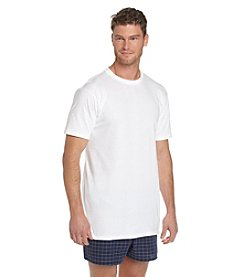 Jockey® Men's White Big & Tall 2-Pack Classic Crewneck Tee