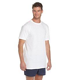 Jockey® Men's White Big & Tall 2-Pack Classic Crewneck Tee