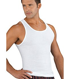 Jockey® Men's White Big & Tall 2-Pack Classic Tank