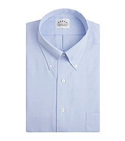 Eagle® Men's Big & Tall Long Sleeve Pinpoint Print Dress Shirt