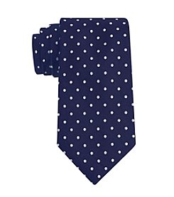 Tommy Hilfiger® Men's Navy Big & Tall Dot Print Tie