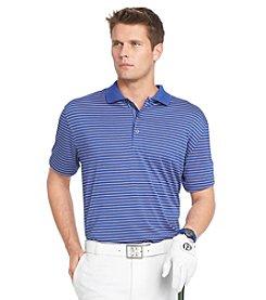 Izod® Men's Big & Tall Short Sleeve Feeder Striped Polo