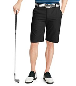Izod® Men's Caviar Flat Front Slim-Fit Golf Short