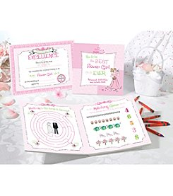 Lillian Rose® Flower Girl Activity Book