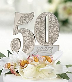 Lillian Rose® 50th Anniversary Cake Pick